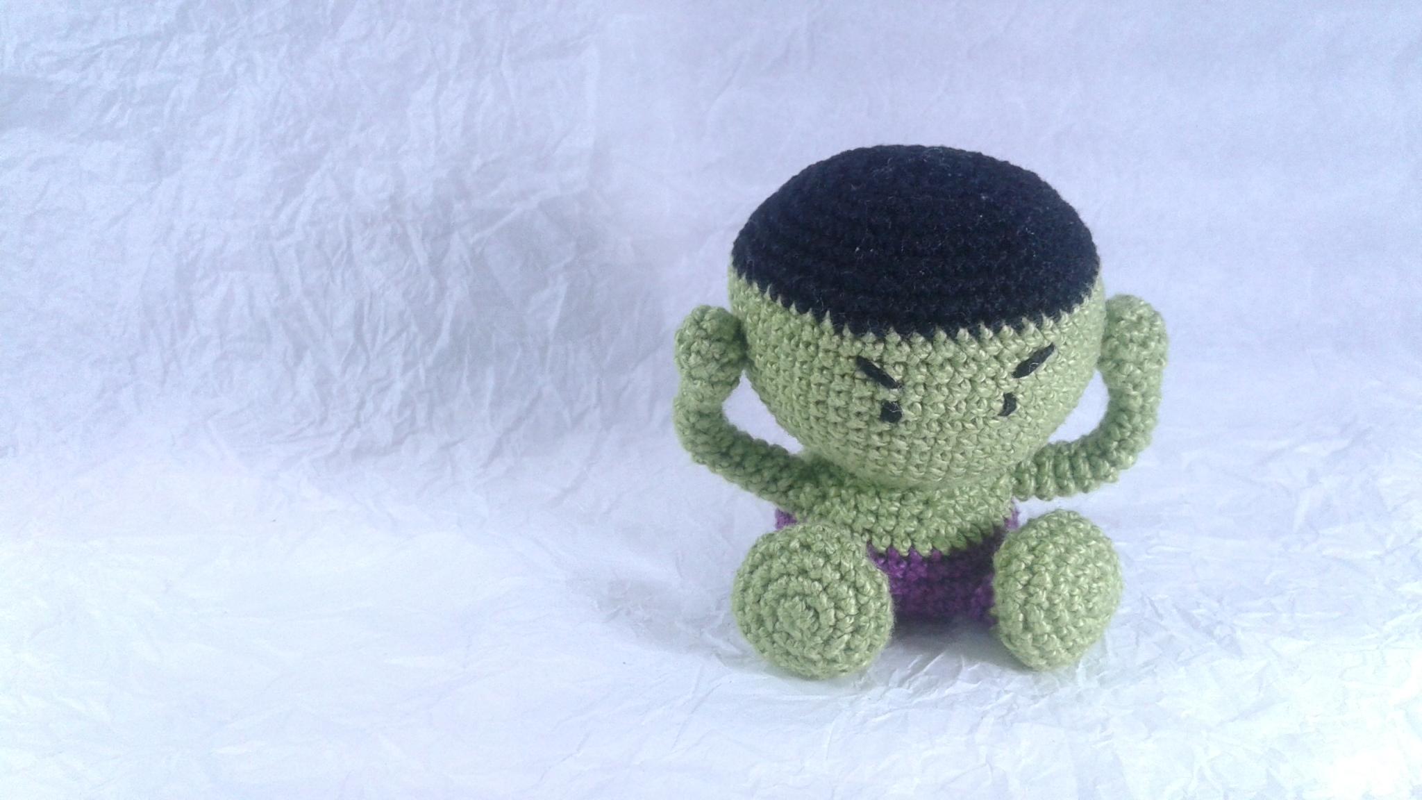 Herói Hulk Verde
