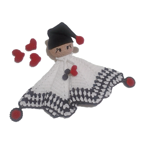 Amigurumi Naninha Pierrot