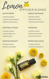 Lemon Oils (CPTG) vs. Lemon Juice