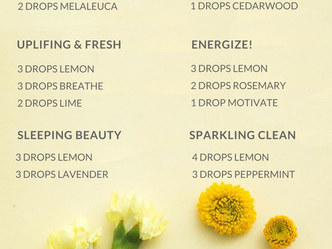 Lemon Oils (CPTG) vs. Lemon Juice