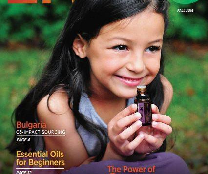 New Issue: Living with Essential Oils as Natural Solutions to Your Life!