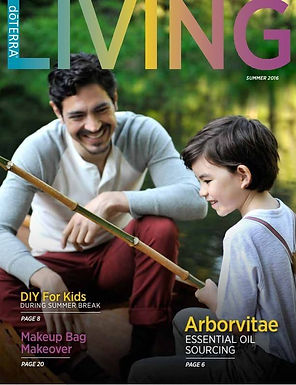 The Summer Living Magazine