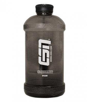 ESN Waterbottle Black Transparent