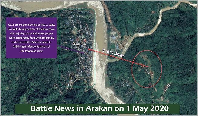 Battle News in Arakan on 1 May 2020