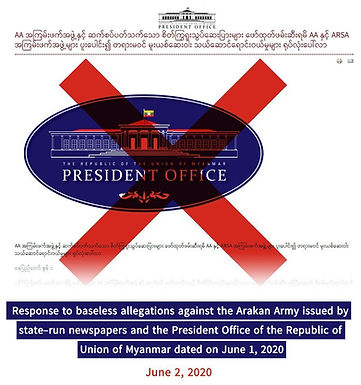 Response to baseless allegations against the Arakan Army