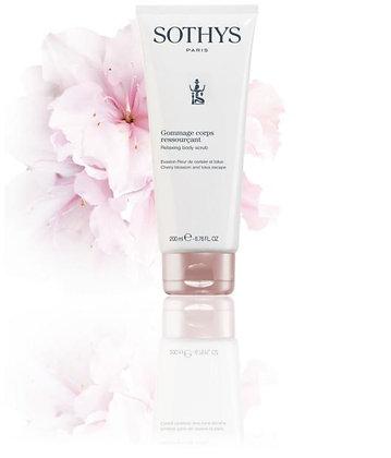 Sothys Gommage corps ressourçant - Evasion Fleur de cerisier et lotus 200ml