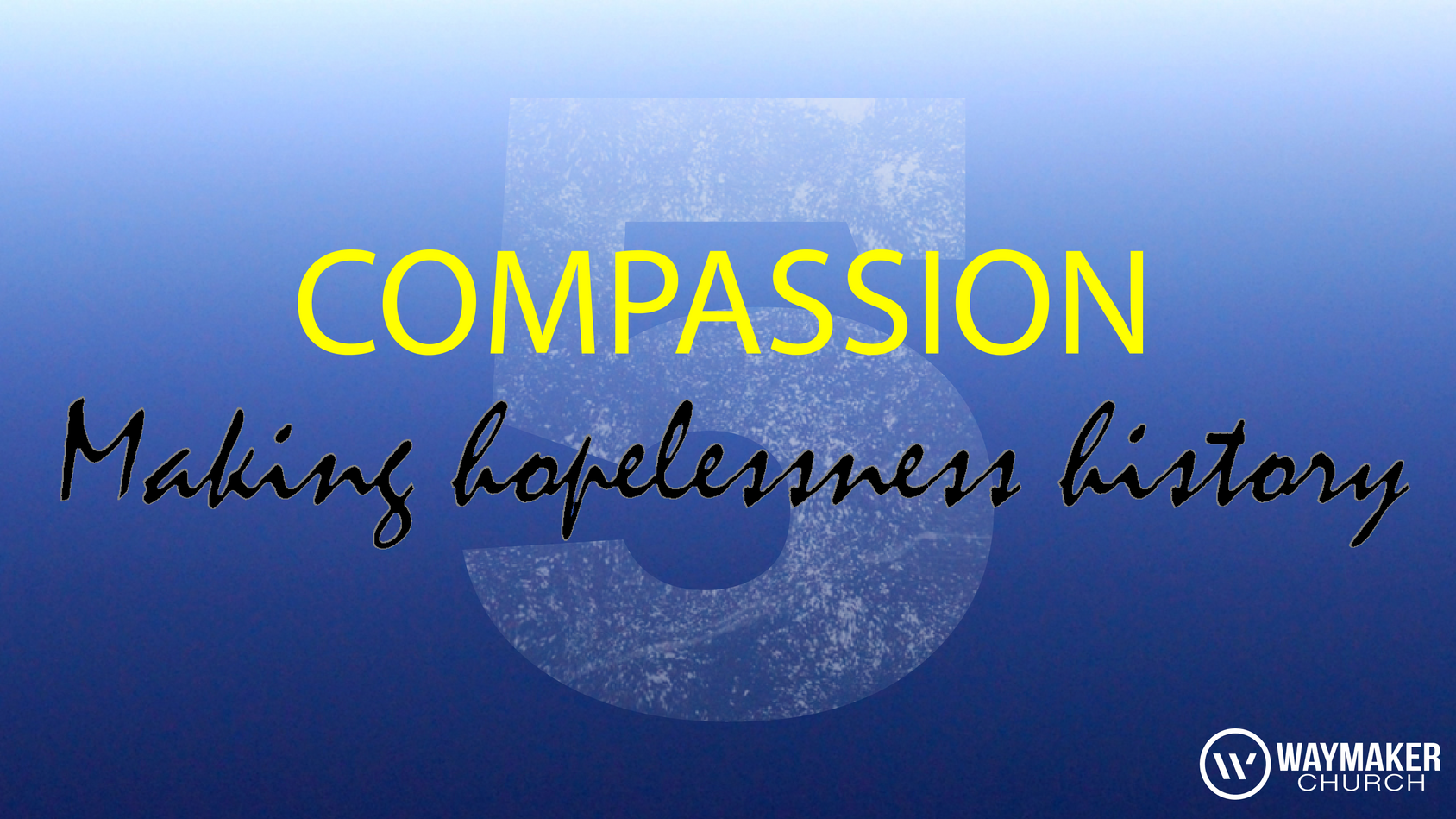 We believe that the church should operate as the hands and feet of Jesus giving and providing compassion to those in need. Jesus Christ didn't die on the cross for church budgets, programs or attendance figures. He didn't die on the cross for acreage, square footage and stained glass windows. He died for people! People matter to God, and people matter to us.