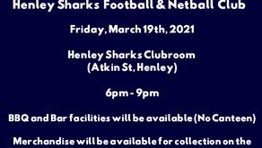 Henley SharksNETBALL 2021 Season OPENER!