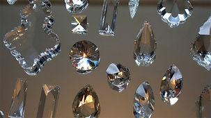 Kristall Ersatz Glas Lusterteile