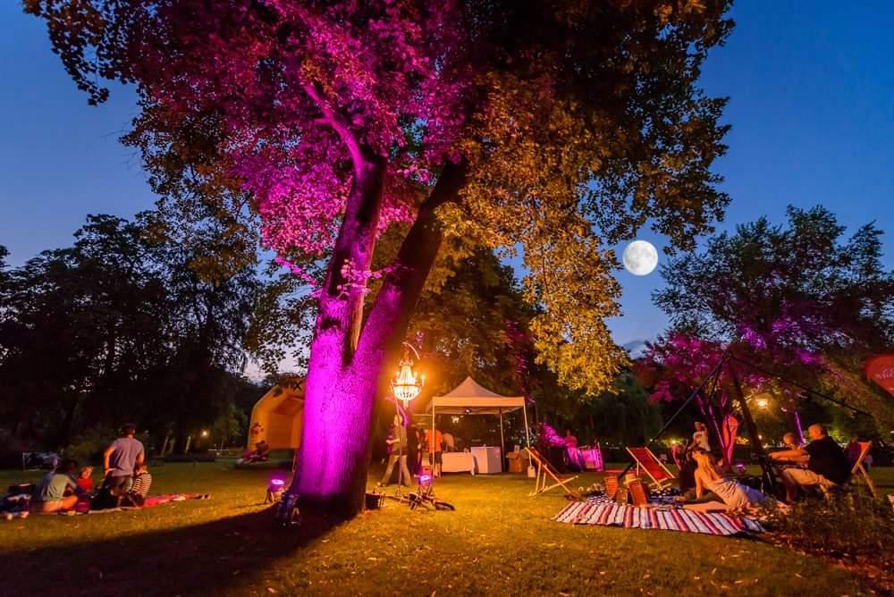 Mondscheinpicknick Dobblhoffpark