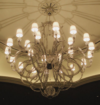 custom-made chandelier