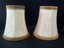 replica of an old style lampshade