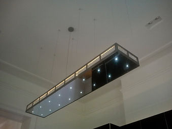 Küchenleuchte Kristall LED