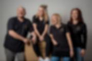 Das Team der Niefergall Leuchten-Manufaktur