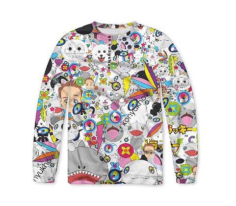 Anime mix Sweatshirt