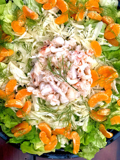 Lobster Fennel Salad Dropoff