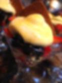 Berries with Bruleed Elderflower Sabayon
