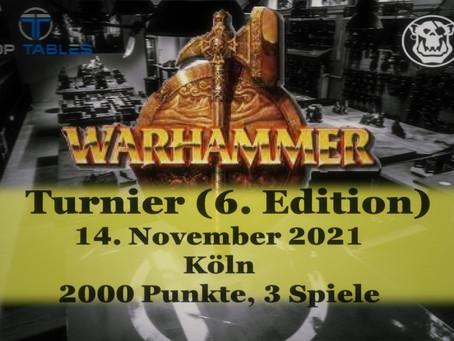 Warhammer Turnier: 13.11.21 (NEUER TERMIN!)