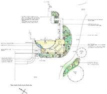 Large rural garden