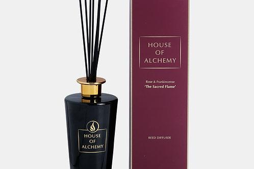 Sacred Flame Diffuser Rose & Frankincense 500ml