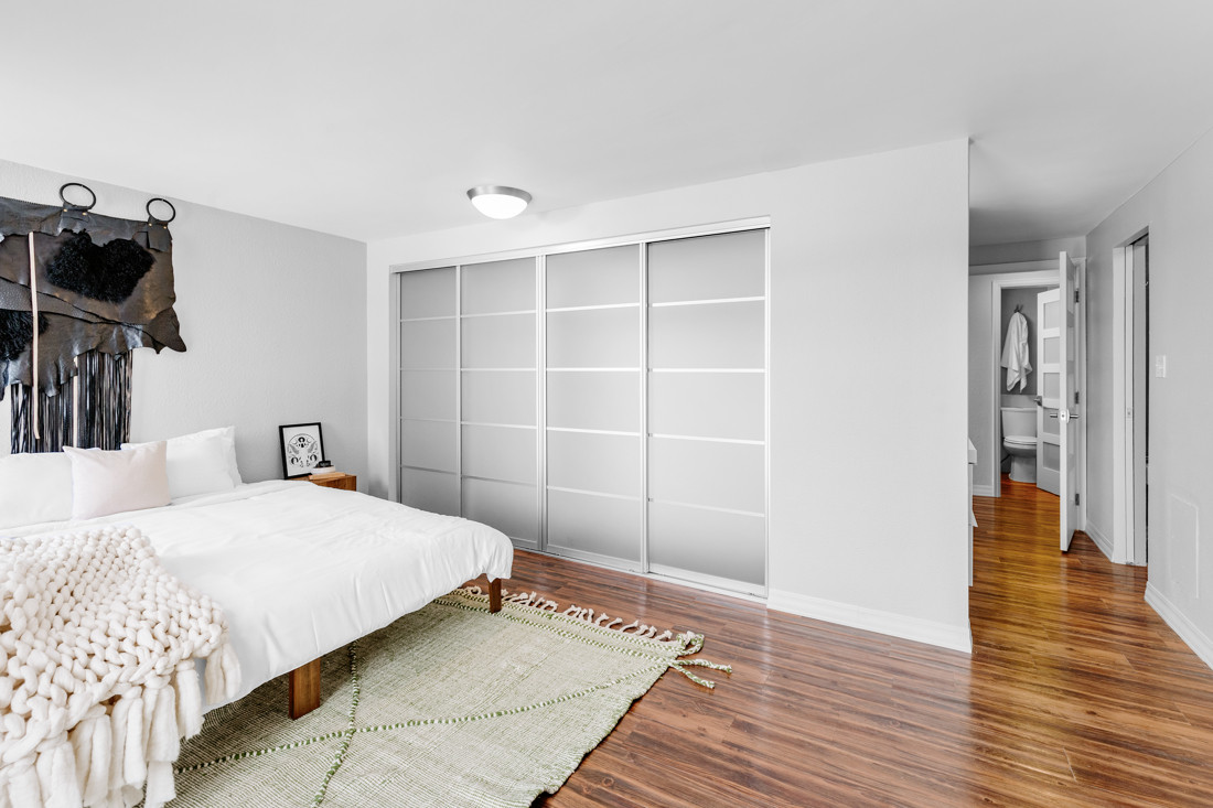 Master Bedroom and Double Closet