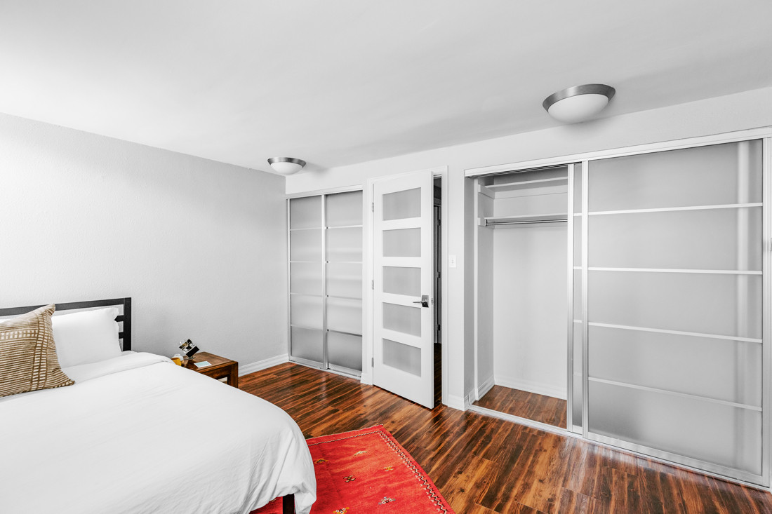Guest Bedroom with Double Closet