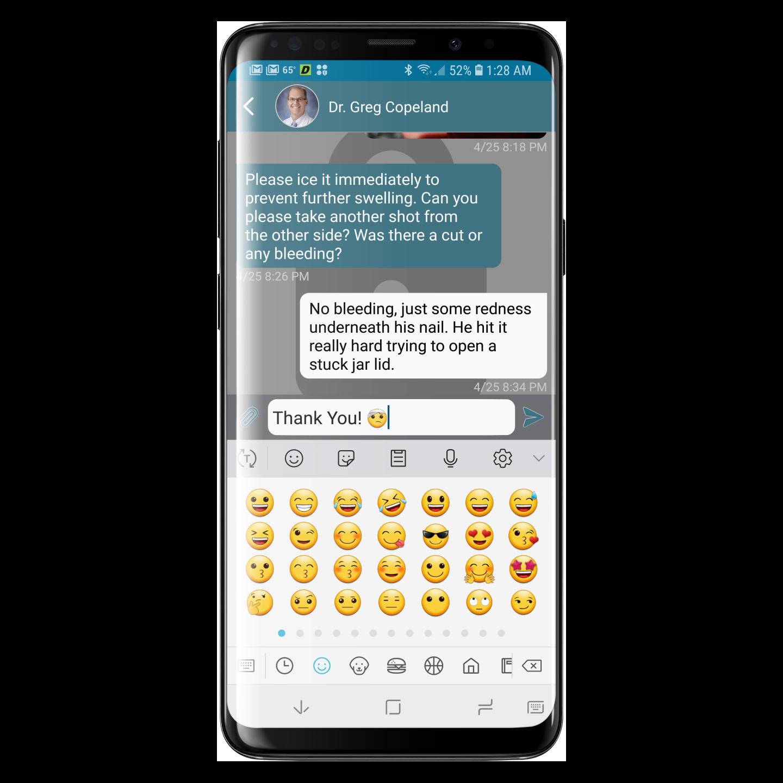 Emoji's work