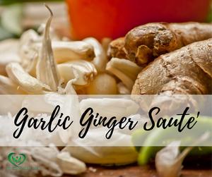 Garlic Ginger Saute