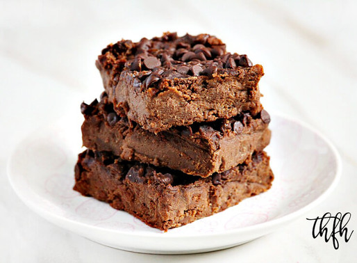 Gluten-Free Vegan Flourless Chickpea Brownie Fudge