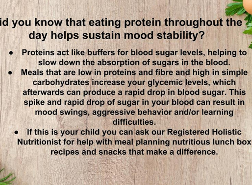 Protein for Mood Stability