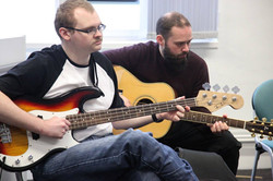 Guitar and Bass combine at Play On