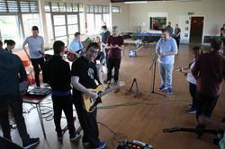 Glenburn Centre getting their groove on