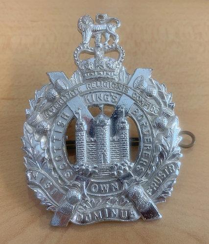 QE2 King's Own Scottish Borderers cap badge