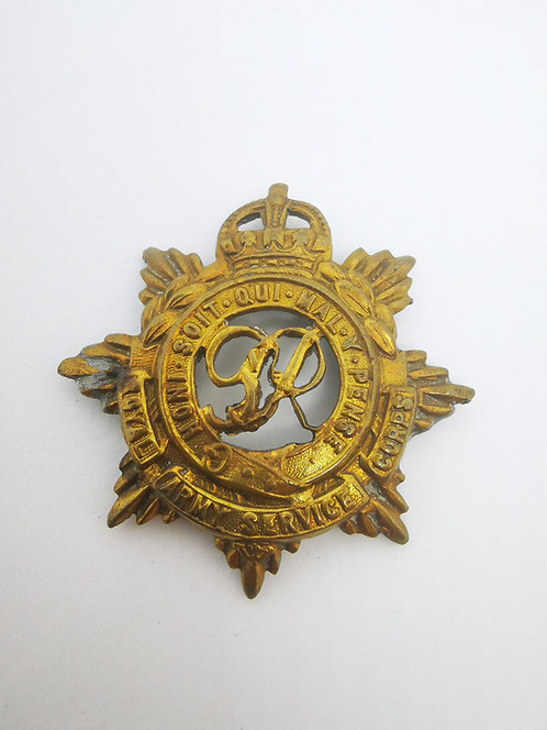 Royal Army Service Corps WW1 cap badge