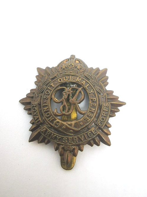 Royal Army Service Corps WW2 Cap Badge