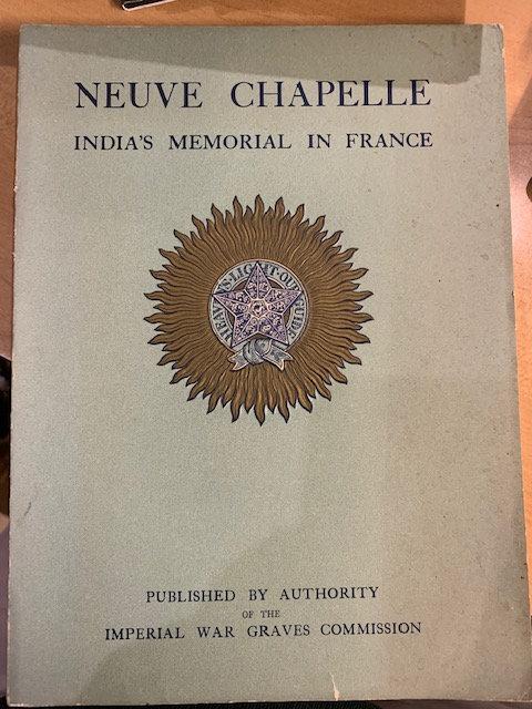 Neuve Chapelle, India's Memorial in France