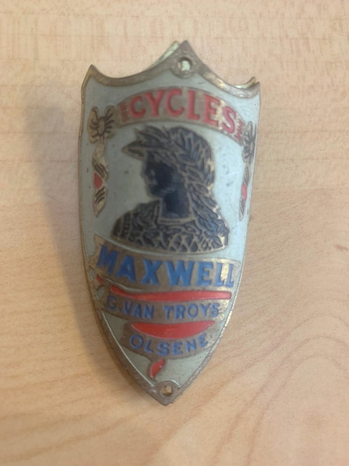 Old bicycle name plate/badge 2