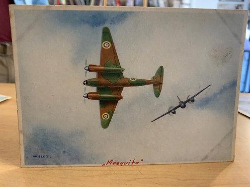 DeHaviland Mosquito Postcard