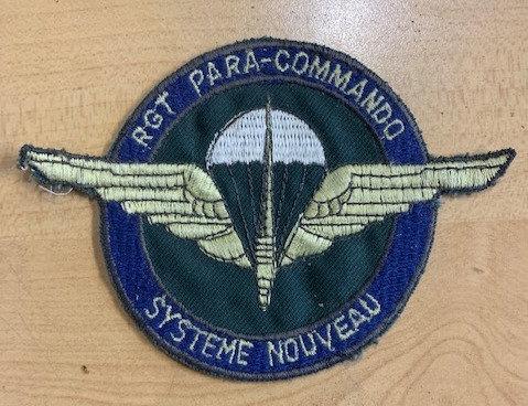 Belgian Army Para-Commando Patch