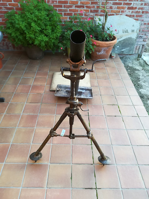 WW1 British 3.5 inch Stokes Trench Mortar