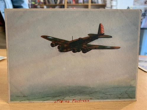 Flying Fortress postcard