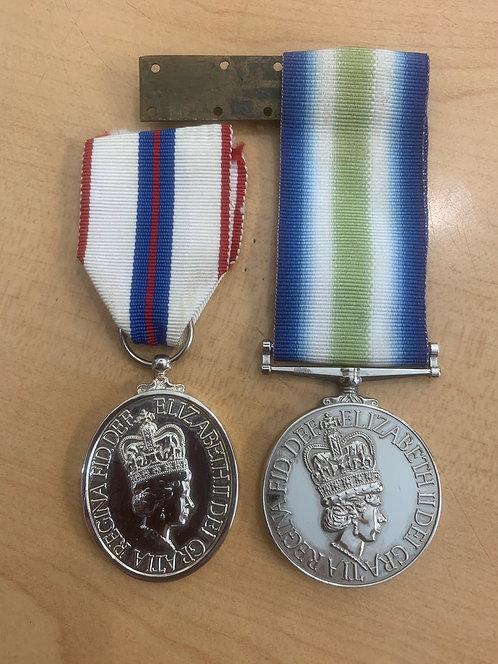 Modern, QE2 medals, Falklands War