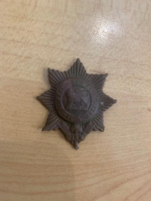 WW1 Worcestershire Regiment collar dog, Relic