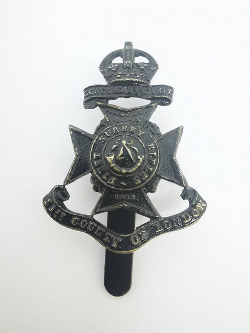 London Battalions First Surrey Rifles, 21st Battalion County of London Regiment
