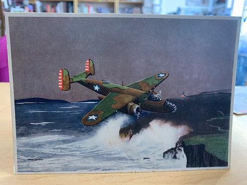 Mitchell Bomber postcard