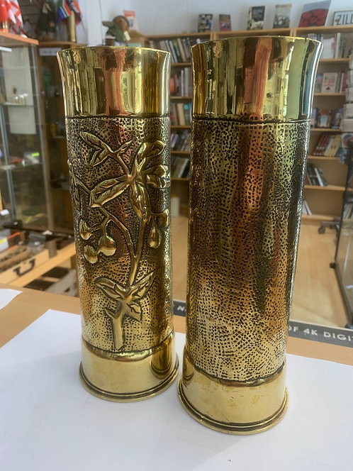 British 18pdr artillery shell trench art