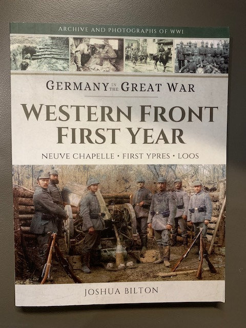 Western Front First Year; Germany in the Great War