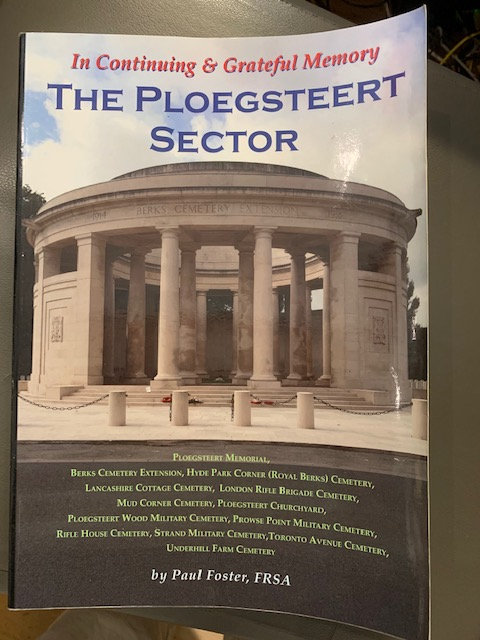 In Continuing & Grateful Memory; The Ploegsteert Sector