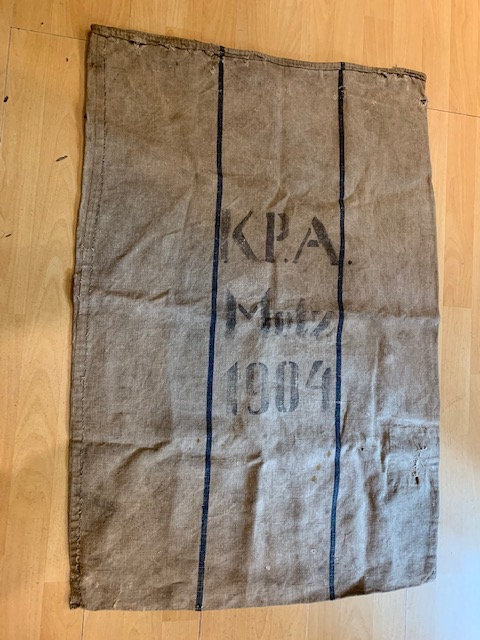 WW1 era German mail bag
