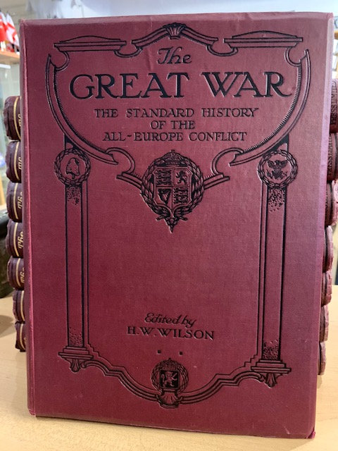 The Great War incomplete set price per volume.